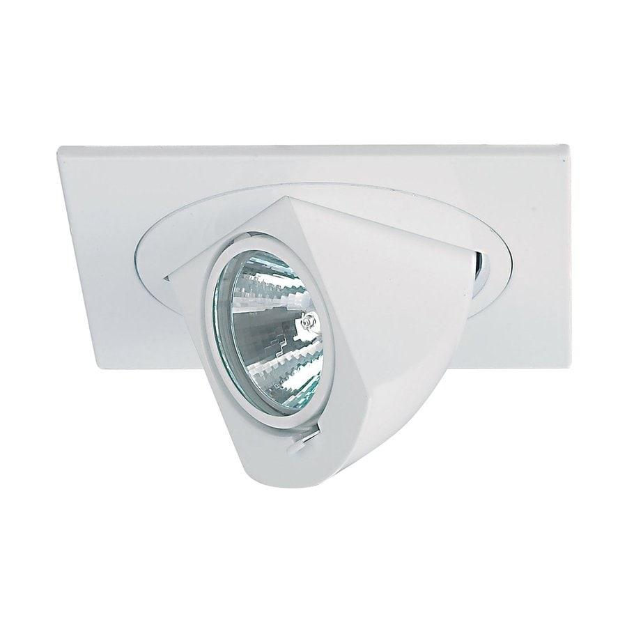 nora lighting square white recessed light trim - Square Recessed Lighting