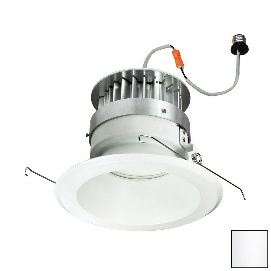 Nora Lighting White Open Recessed Light Trim (Fits Housing Diameter: 6-in)