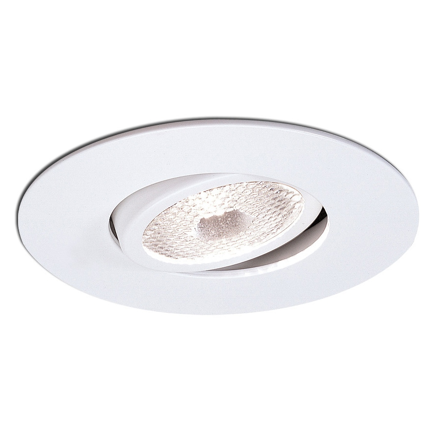 Nora Lighting White Gimbal Recessed Light Trim