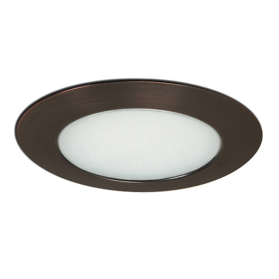 Shop Nora Lighting Albalite Bronze Shower Recessed Light Trim At