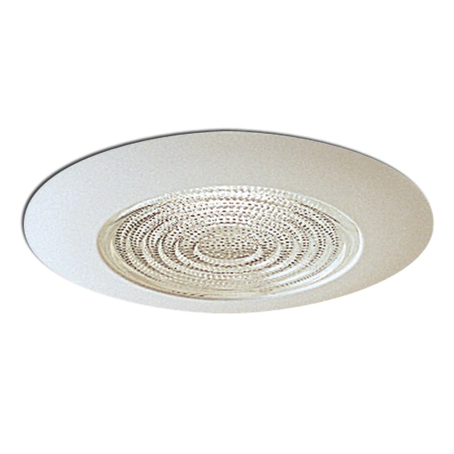 Recessed Lighting At Lowes : Nora lighting white shower recessed light trim at