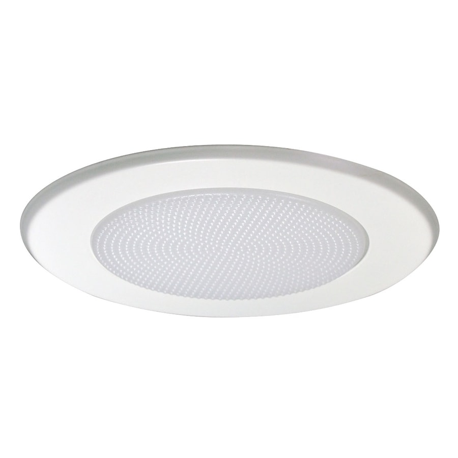 Nora Lighting Albalite White Shower Recessed Light Trim