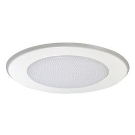 Nora Lighting White Shower Recessed Light Trim (Fits Housing Diameter 5-in)  sc 1 st  Loweu0027s & Shop Recessed Light Trim at Lowes.com