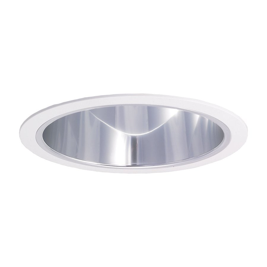 Nora Lighting Chrome Reflector Recessed Light Trim
