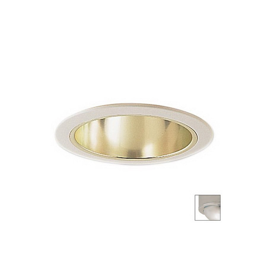 Nora Lighting 6-in Chrome Open Recessed Lighting Trim