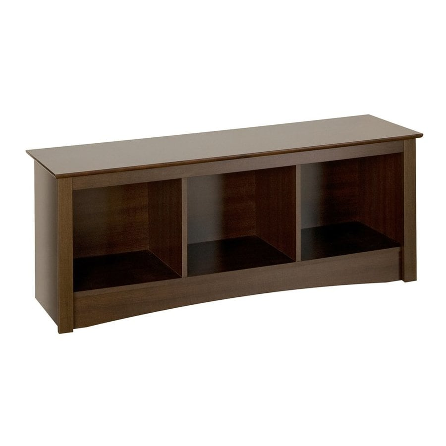 Prepac Furniture Fremont Espresso Indoor Accent Bench