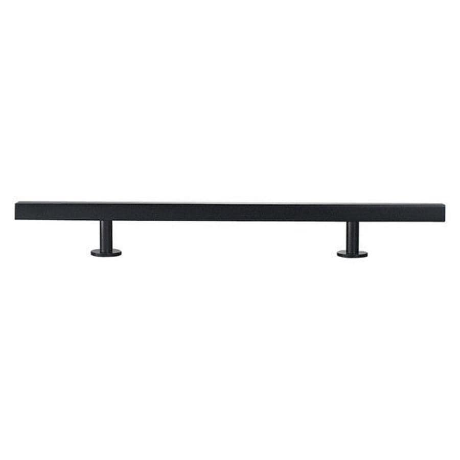 Lew's Hardware 3-in Center-to-Center Matte Black Bar Series Bar Cabinet Pull
