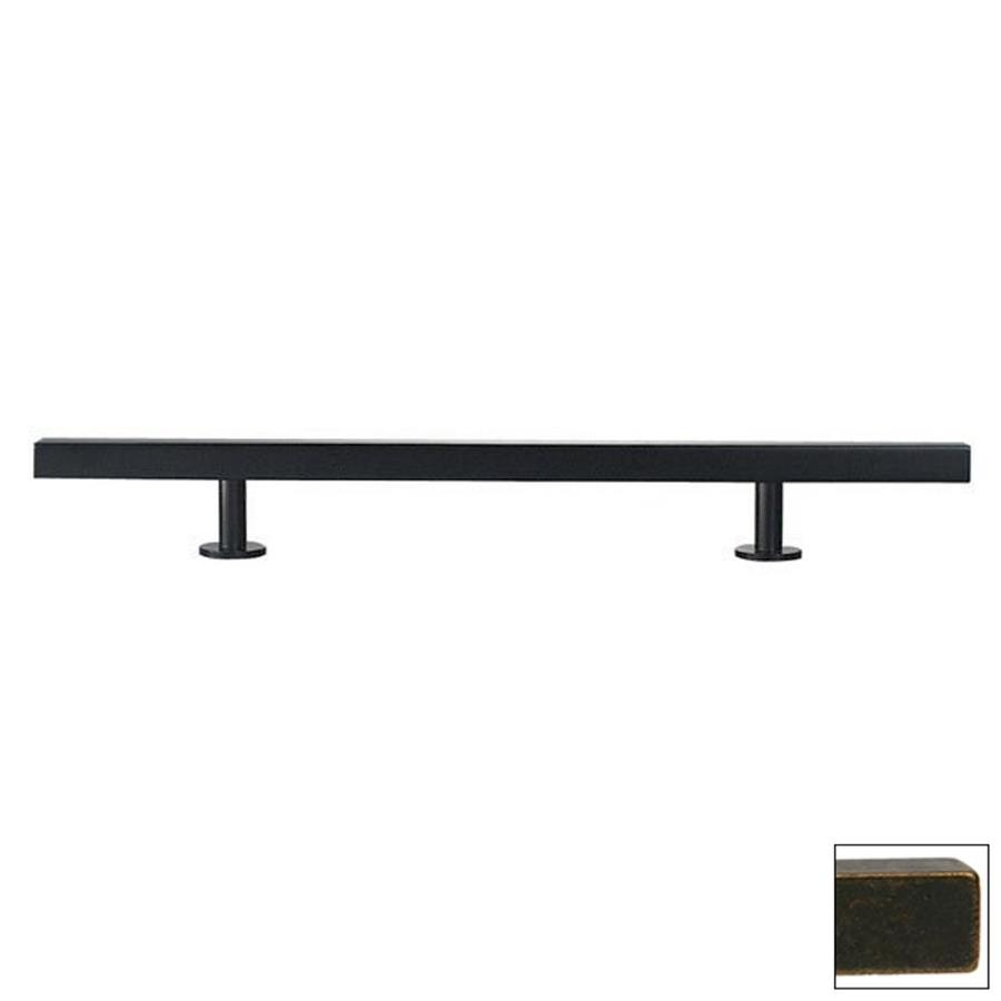 Lew's Hardware 6-in Center-to-Center Oil-Rubbed Bronze Bar Series Bar Cabinet Pull