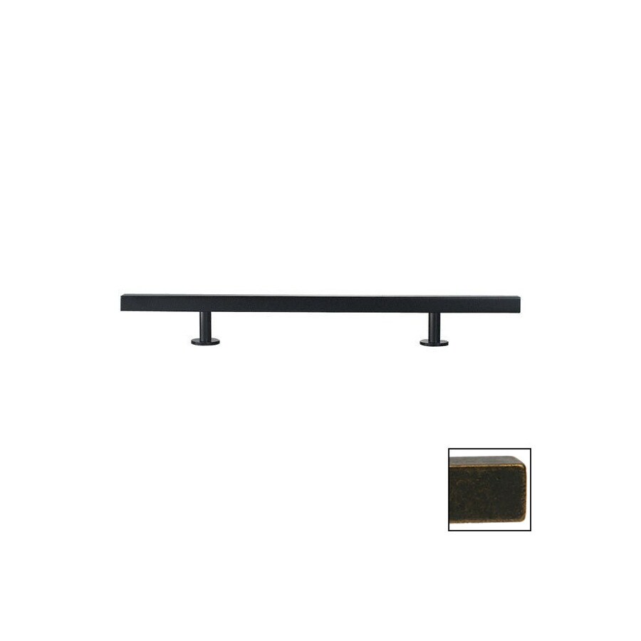 Lew's Hardware 16-in Center-to-Center Oil-Rubbed Bronze Bar Series Bar Cabinet Pull
