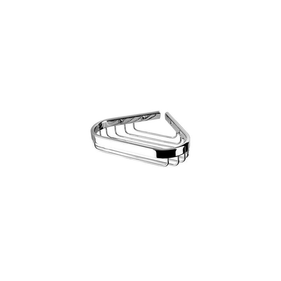 Nameeks Basket Chrome Brass Corner Soap Dish