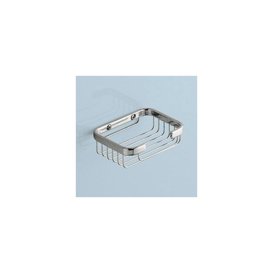 Nameeks Gedy Wire Chrome Brass Wall-Mounted Soap Dish