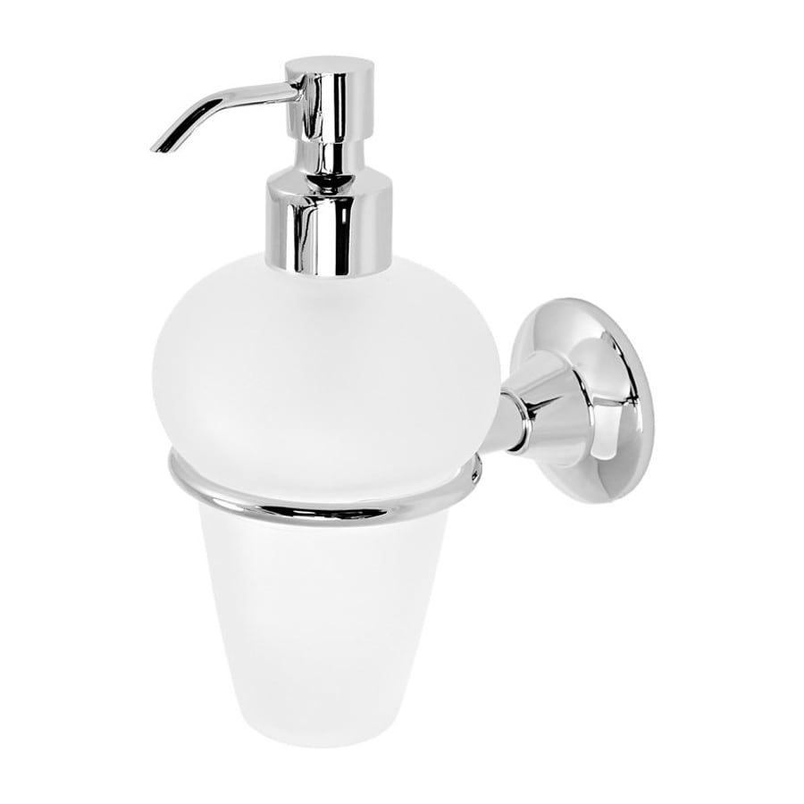 Nameeks Ascot Chrome Soap and Lotion Dispenser