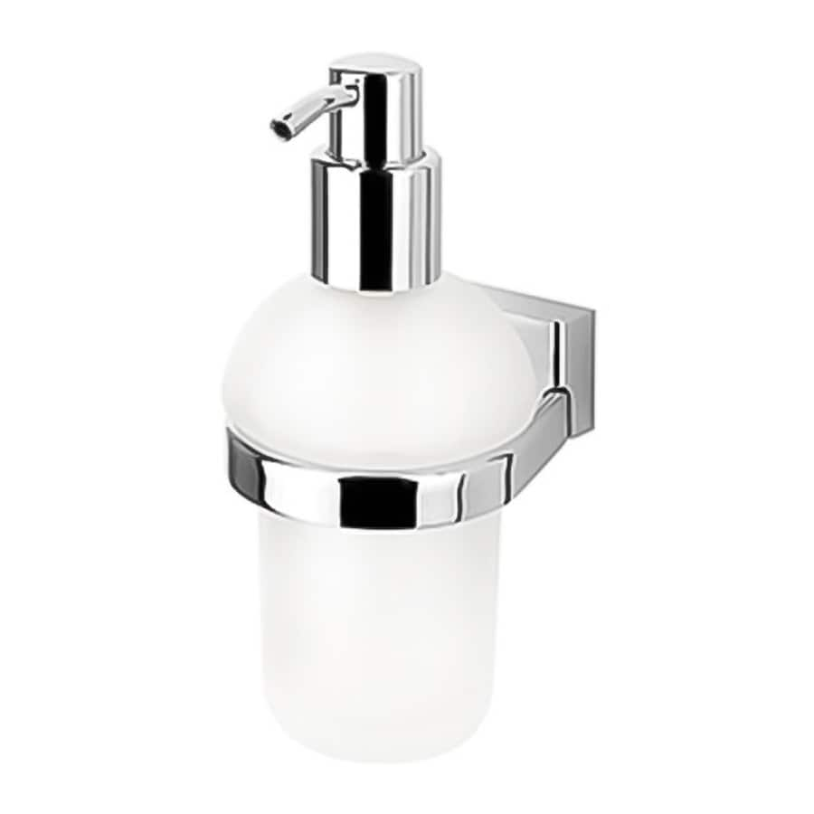 Nameeks BloQ Chrome Soap and Lotion Dispenser