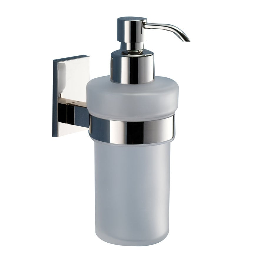Nameeks Gedy Maine Chrome Soap and Lotion Dispenser