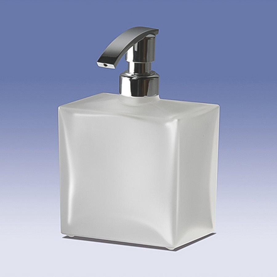 Nameeks Windisch Frozen/Chrome Soap and Lotion Dispenser