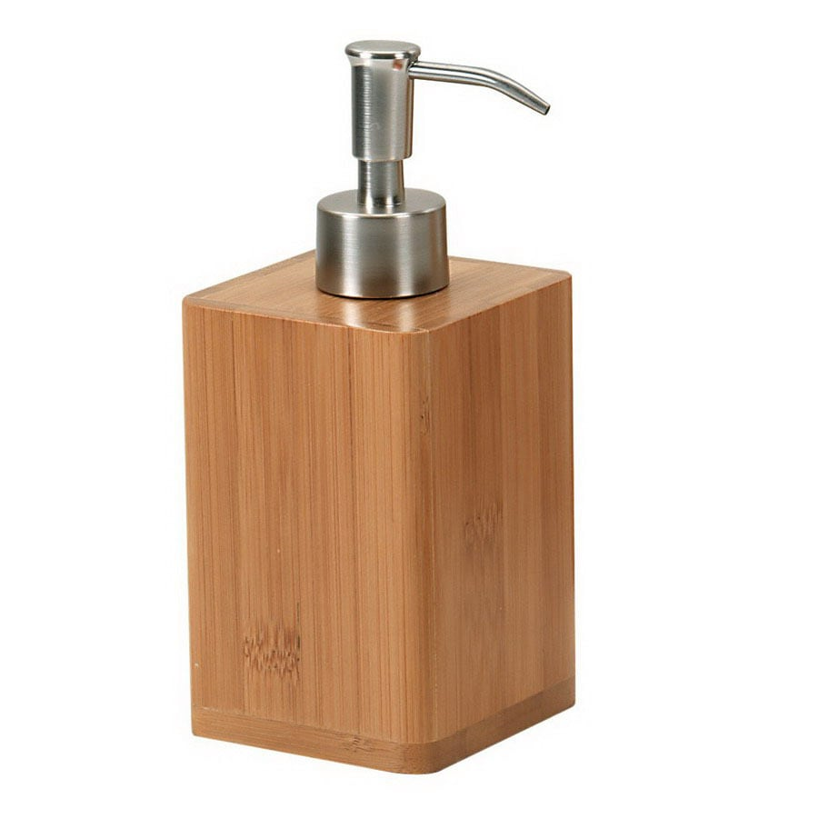 Nameeks Gedy Bambu Natural Soap and Lotion Dispenser