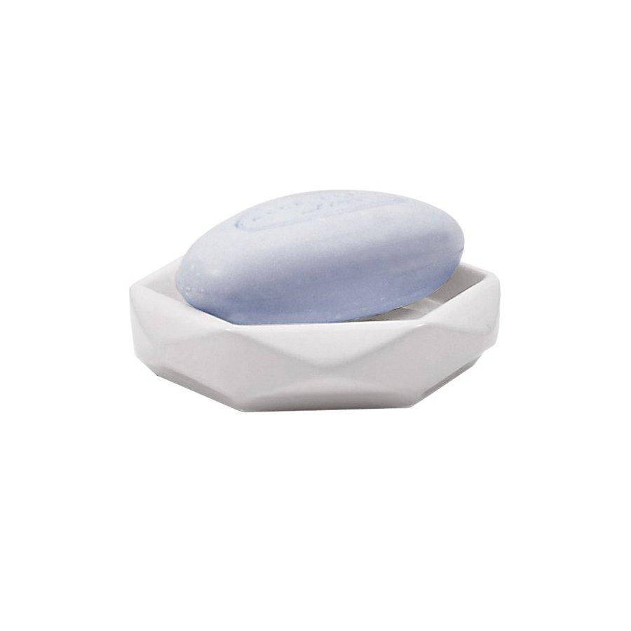 Nameeks Gedy Dalia White Ceramic Soap Dish
