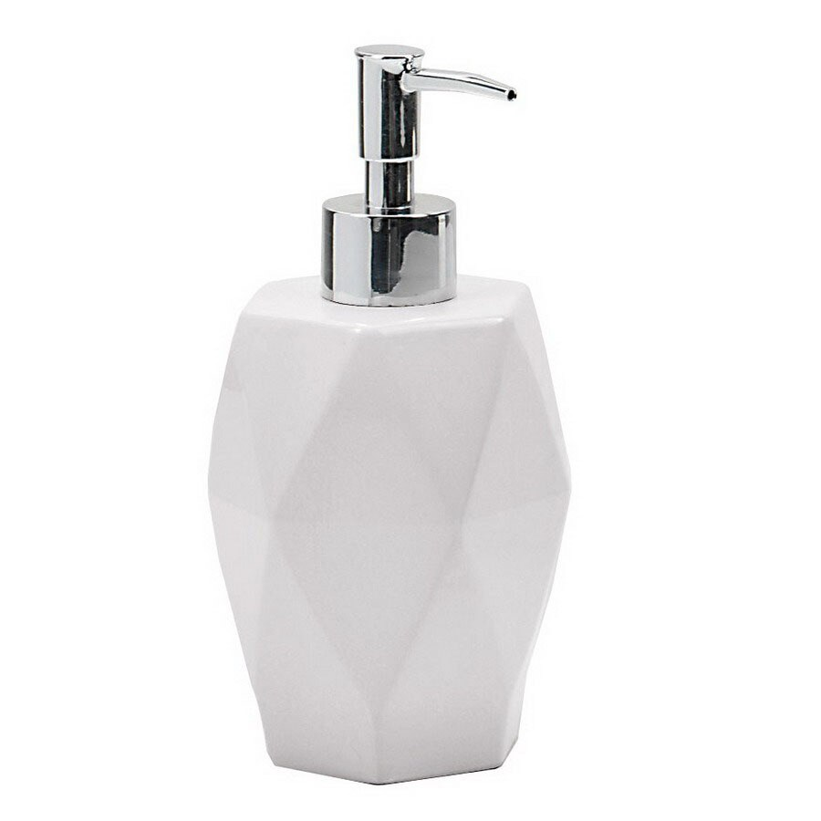 Nameeks Gedy Dalia White Soap and Lotion Dispenser