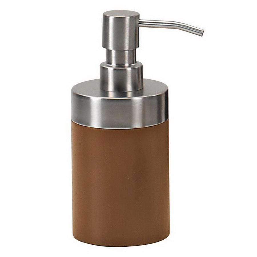Nameeks Gedy Erica Walnut Soap and Lotion Dispenser