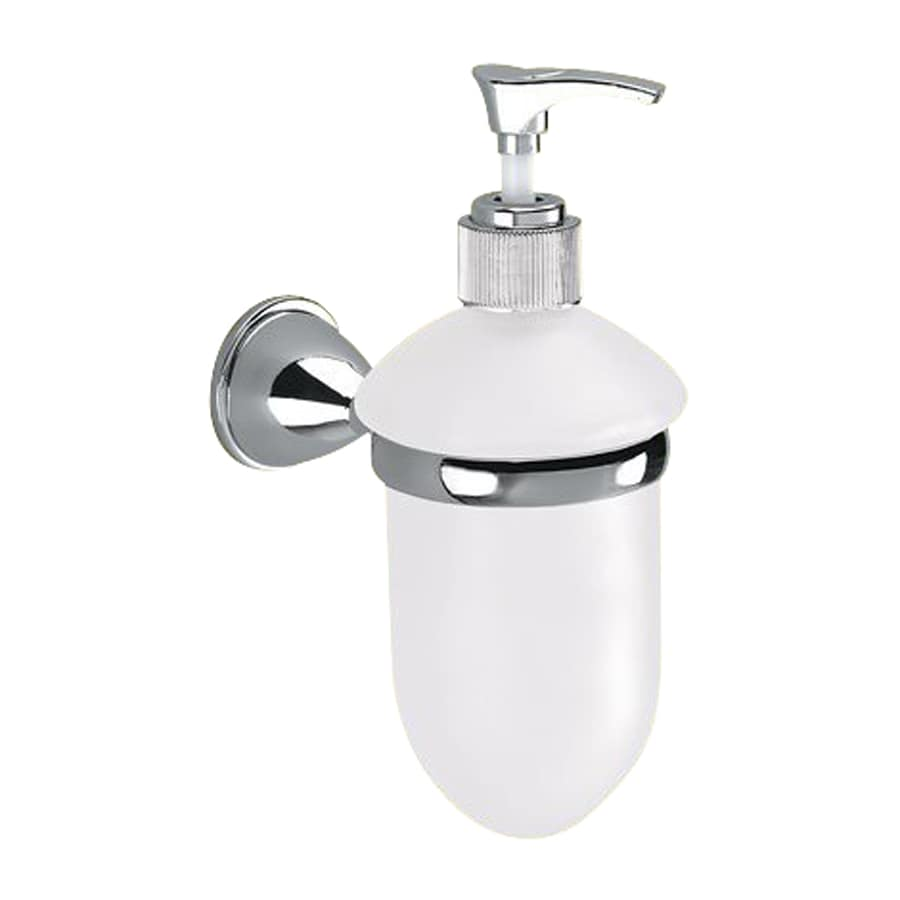 Nameeks Genziana Chrome Soap and Lotion Dispenser