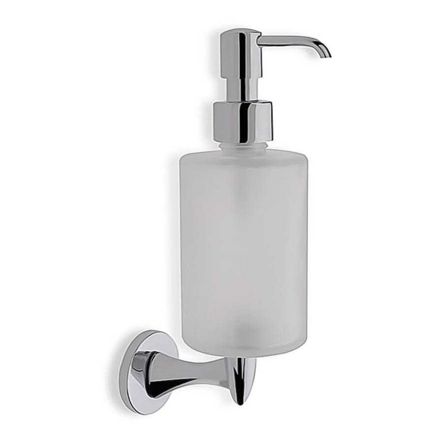 Nameeks Holiday Chrome Soap and Lotion Dispenser