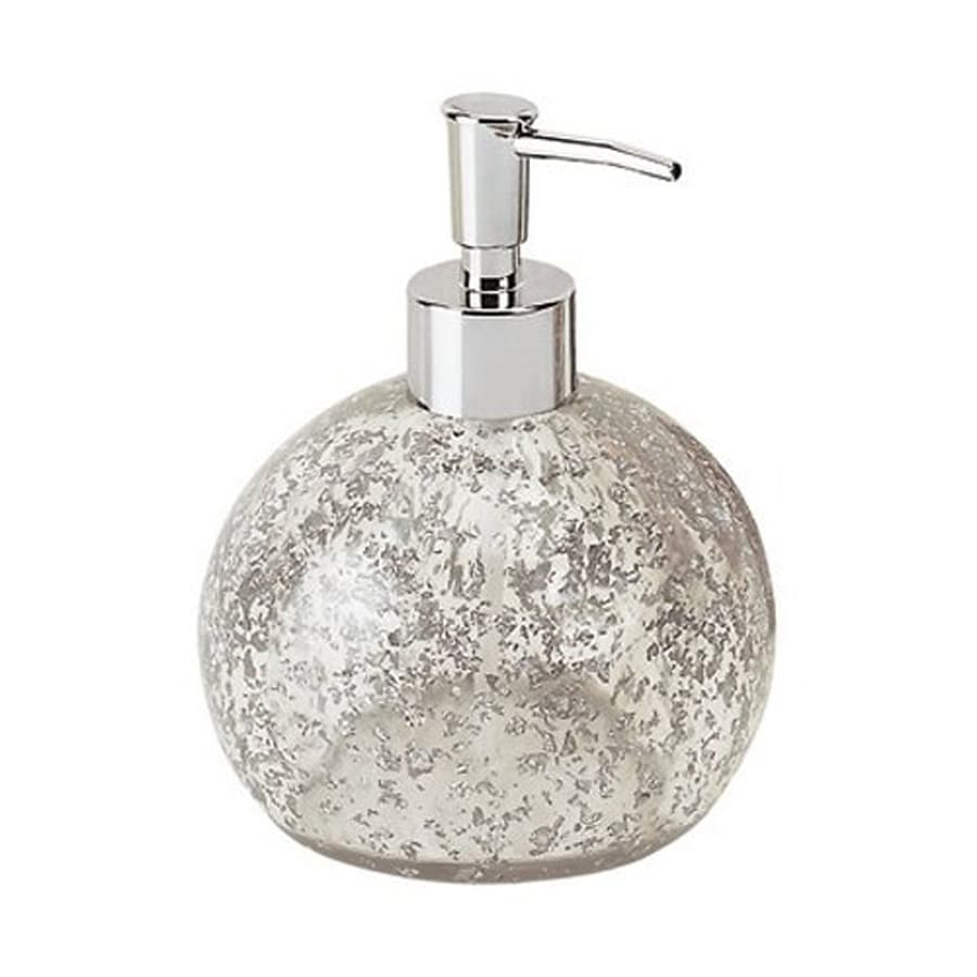 Nameeks Gedy Melissa Silver Soap and Lotion Dispenser