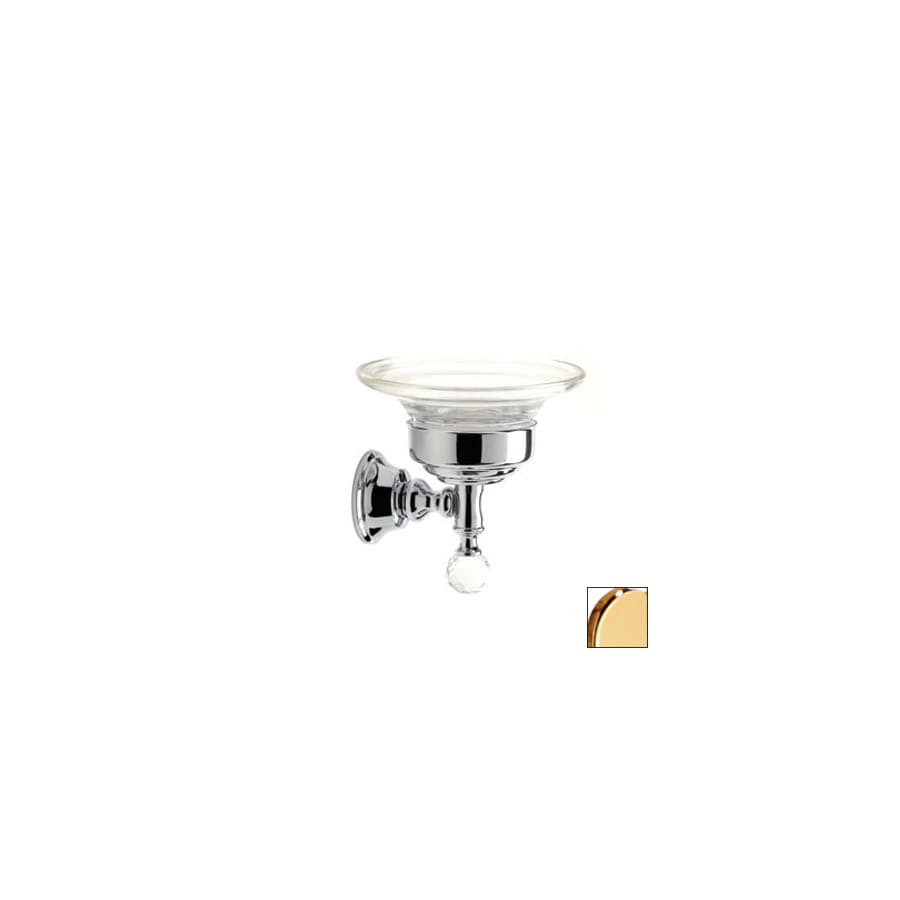 Nameeks Stilhaus Smart Light Gold Glass Soap Dish