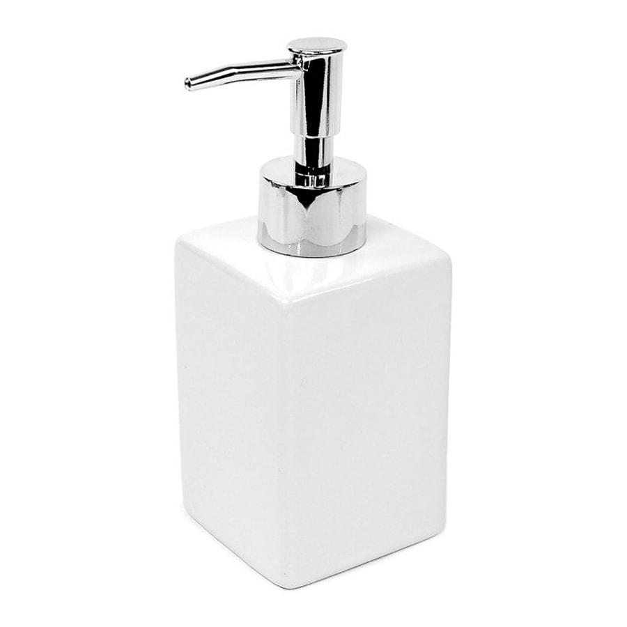 Nameeks Verbena White Soap and Lotion Dispenser