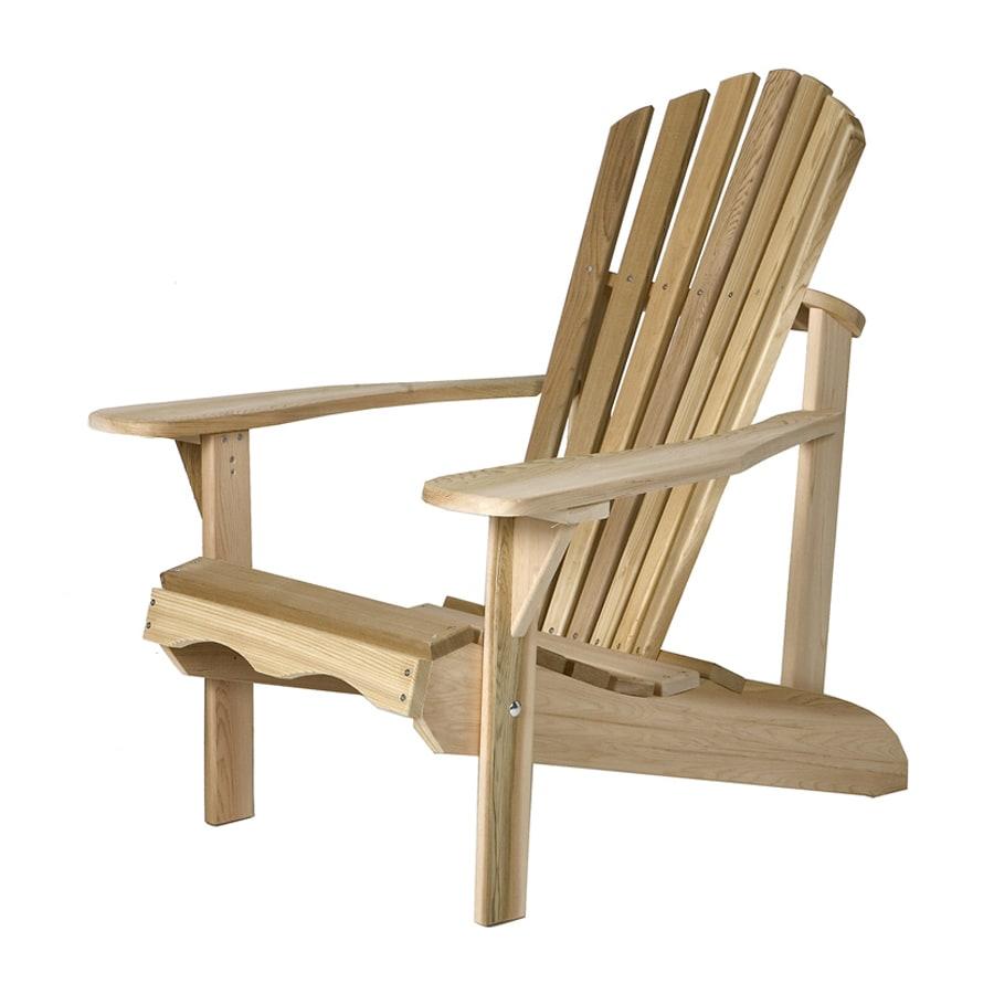 All Things Cedar Tan Cedar Patio Adirondack Chair
