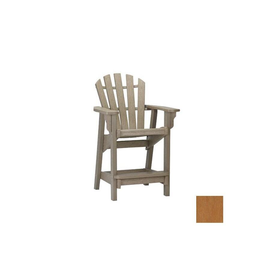 Siesta Furniture Classic Tan Plastic Adirondack Chair