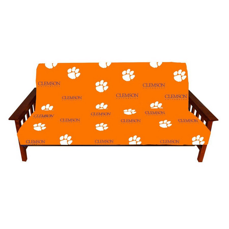 college covers clemson duck  canvas  futon slipcover shop college covers clemson duck  canvas  futon slipcover at lowes    rh   lowes
