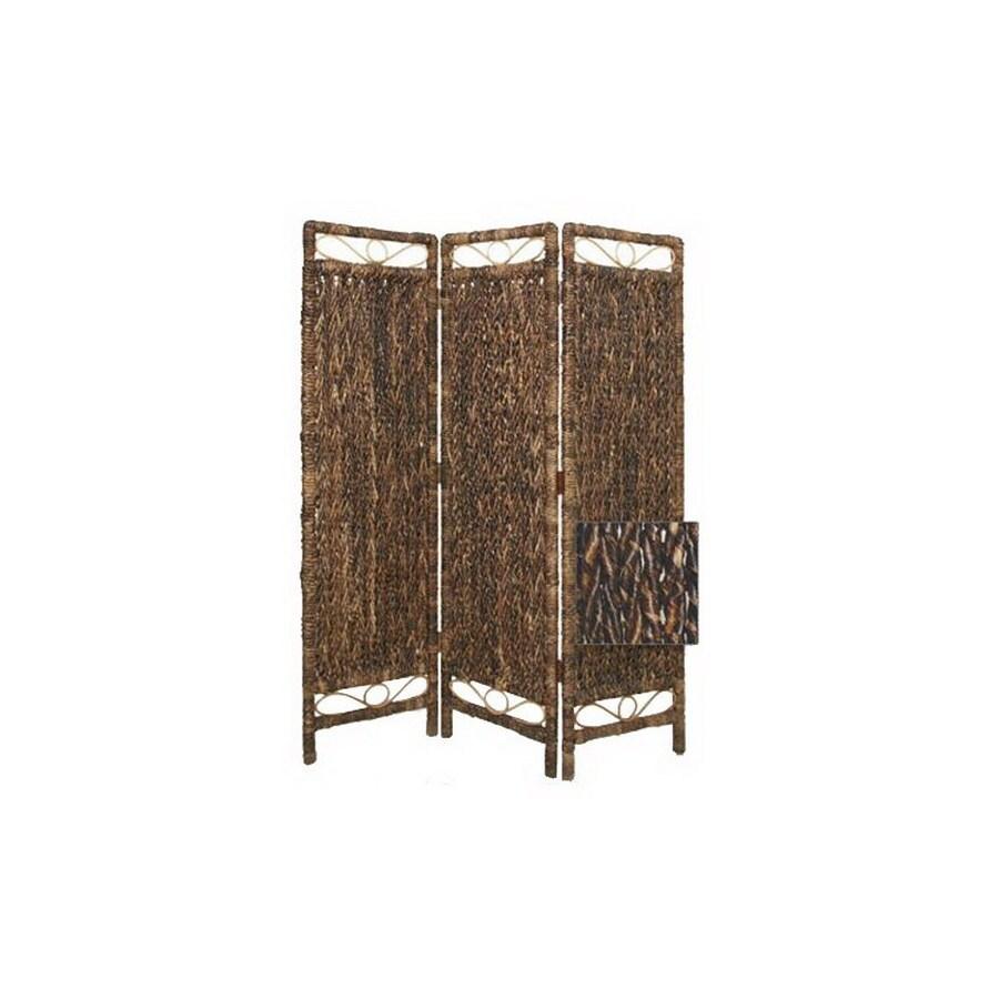 Oriental Furniture Room Dividers 3 Panel Folding Indoor Privacy Screen
