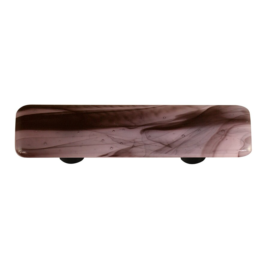 Hot Knobs 3-in Center-to-Center Aluminum Swirl Rectangular Cabinet Pull