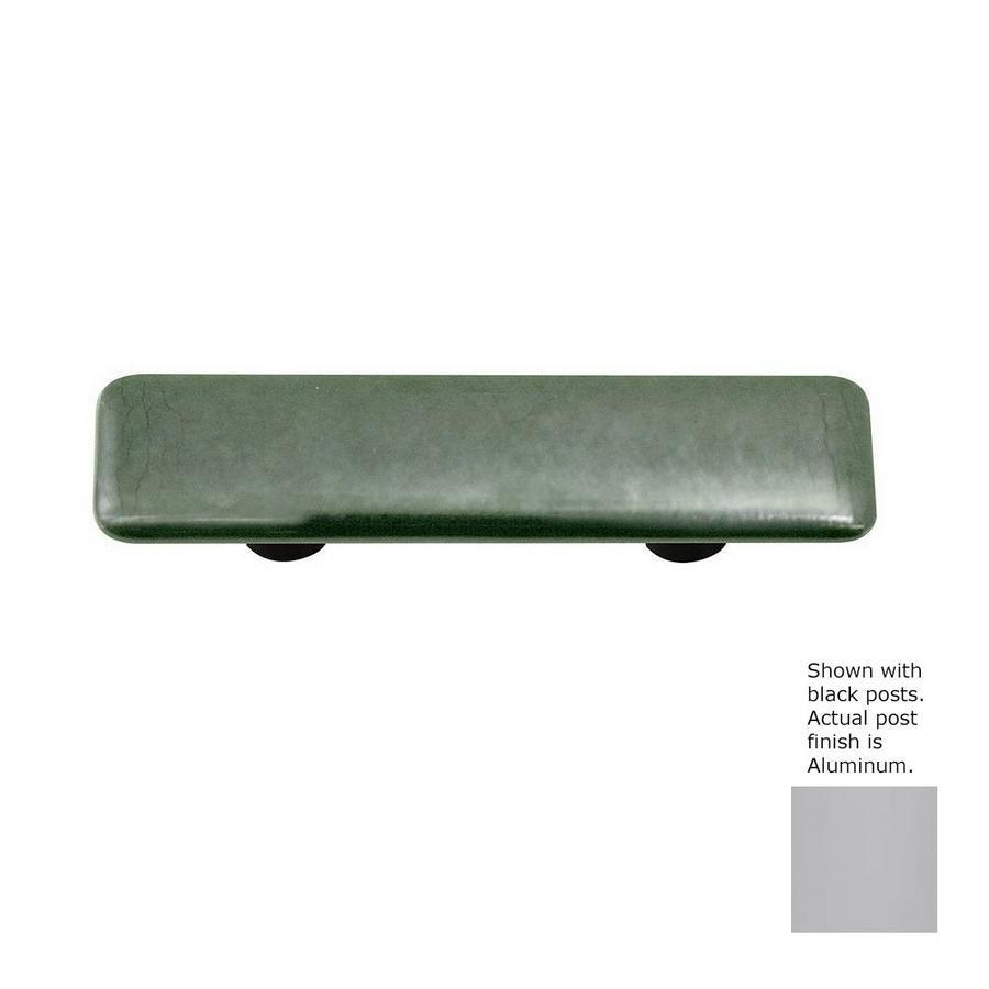 Hot Knobs 3-in Center-to-Center Aluminum Metallic Rectangular Cabinet Pull
