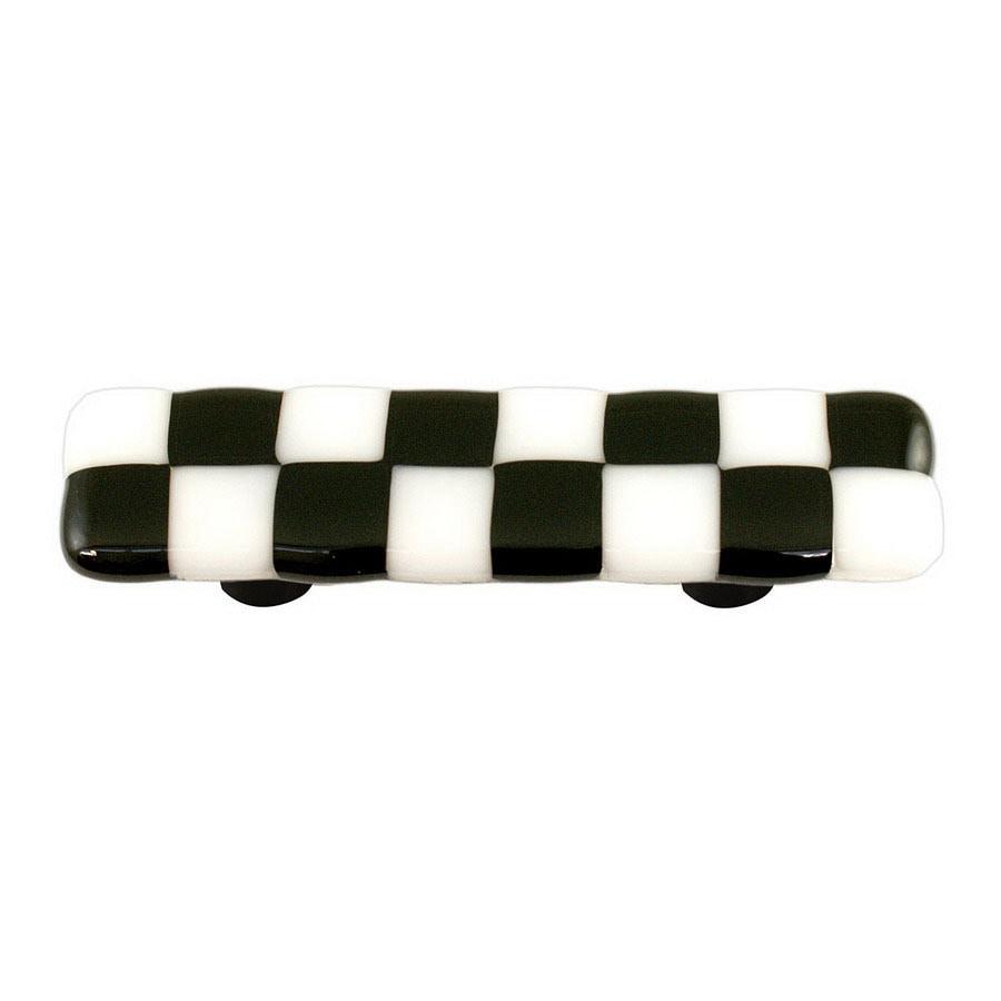 Hot Knobs 3-in Center-to-Center Aluminum Li'l Squares Rectangular Cabinet Pull