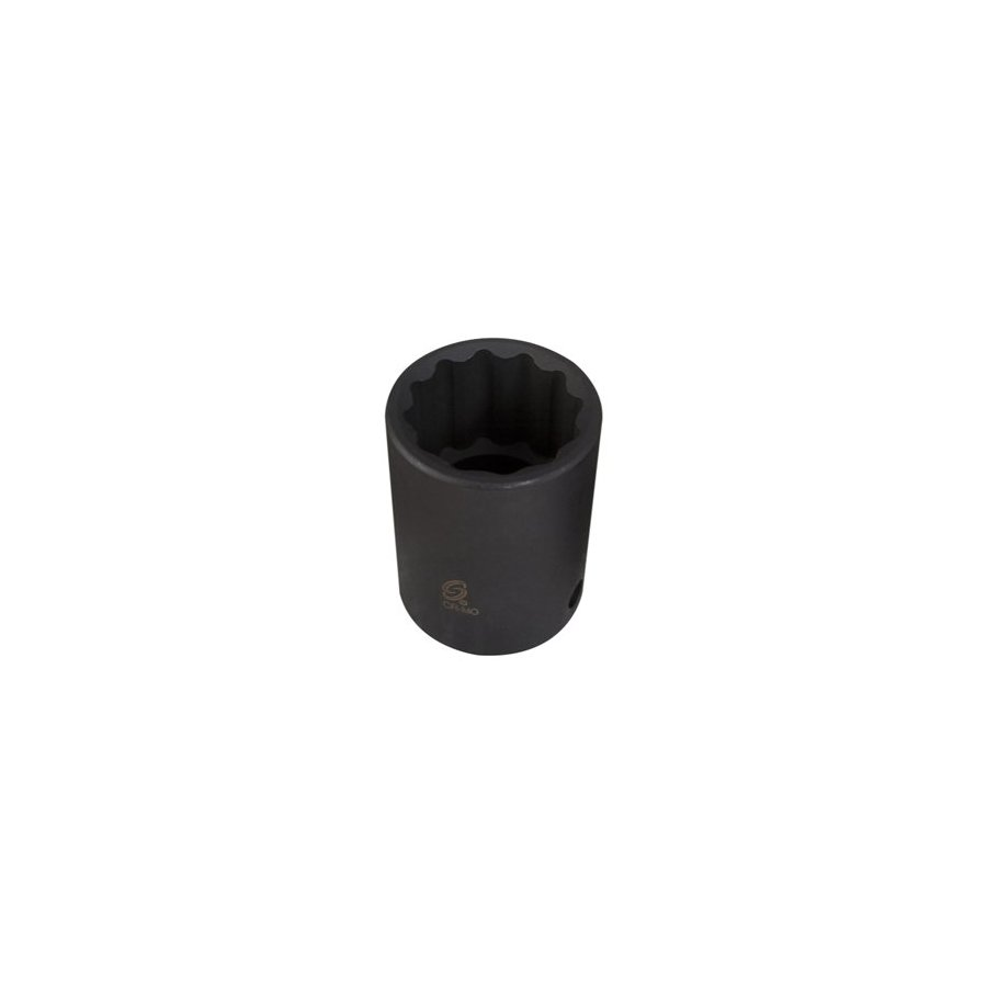 Sunex Tools 1/2-in Drive 9/16-in Shallow 12-Point Standard (SAE) Impact Socket