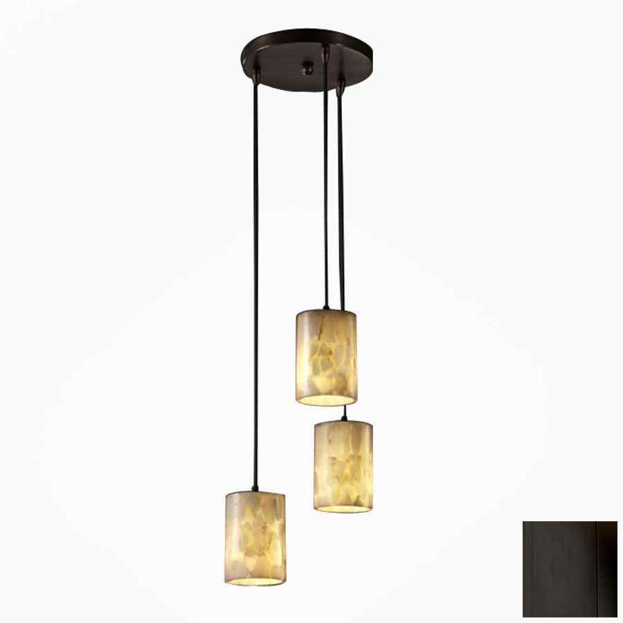 Cascadia Lighting Alabaster Rocks Matte Black Alabaster Stone/Glass Mini Pendant Light with Shade  sc 1 st  Loweu0027s & Shop Cascadia Lighting Alabaster Rocks Matte Black Alabaster Stone ... azcodes.com