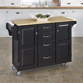 kitchen cart. Home Styles Black Scandinavian Kitchen Cart Shop Islands  Carts at Lowes com