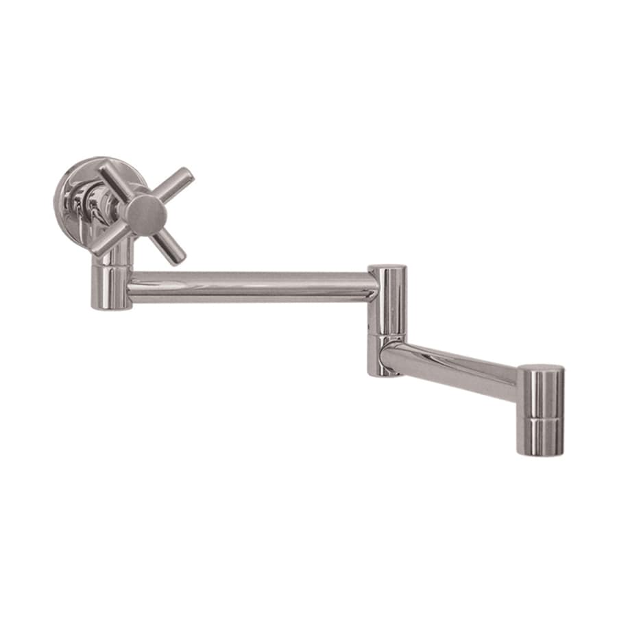Shop whitehaus collection decohaus stainless steel brushed Pot filler faucet