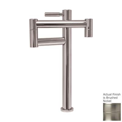 Whitehaus Collection Decohaus Brushed Nickel 1 Handle Deck