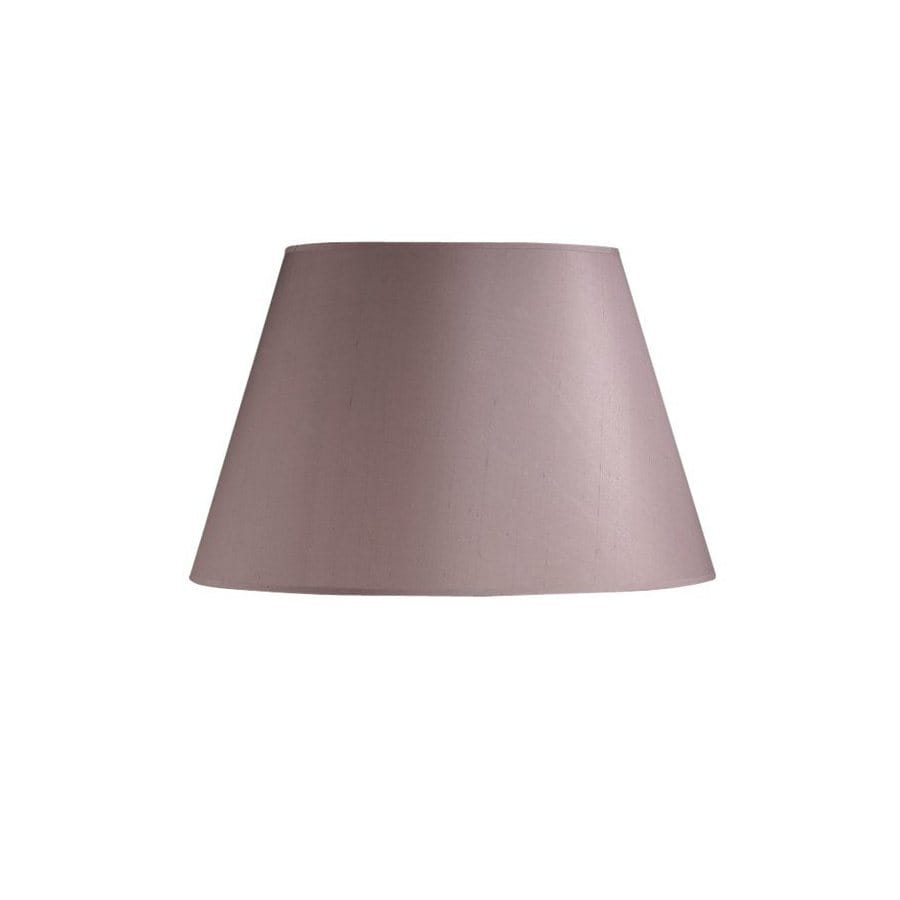 Shop cascadia lighting 10 in x 16 in mauve drum lamp shade at cascadia lighting 10 in x 16 in mauve drum lamp shade mozeypictures Images