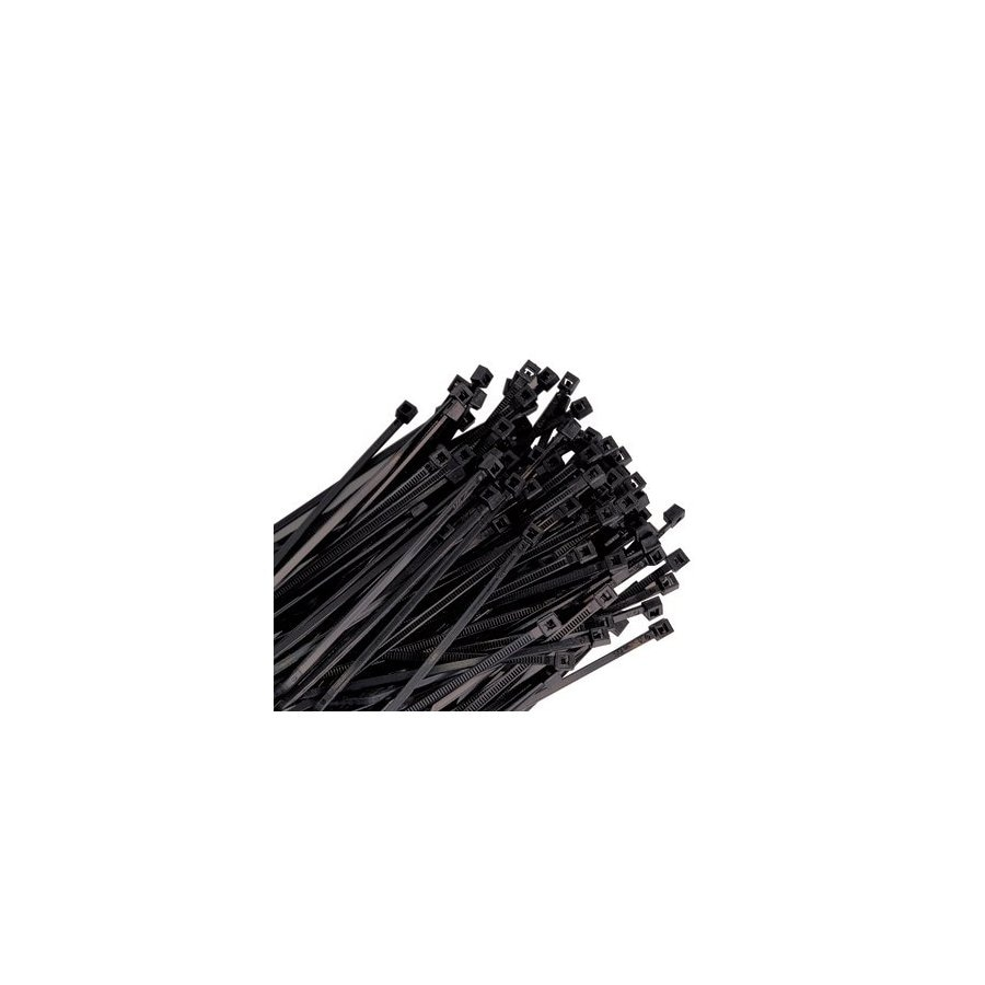 K Tool International 25-Pack 24-in Nylon Heavy Duty Cable Tie