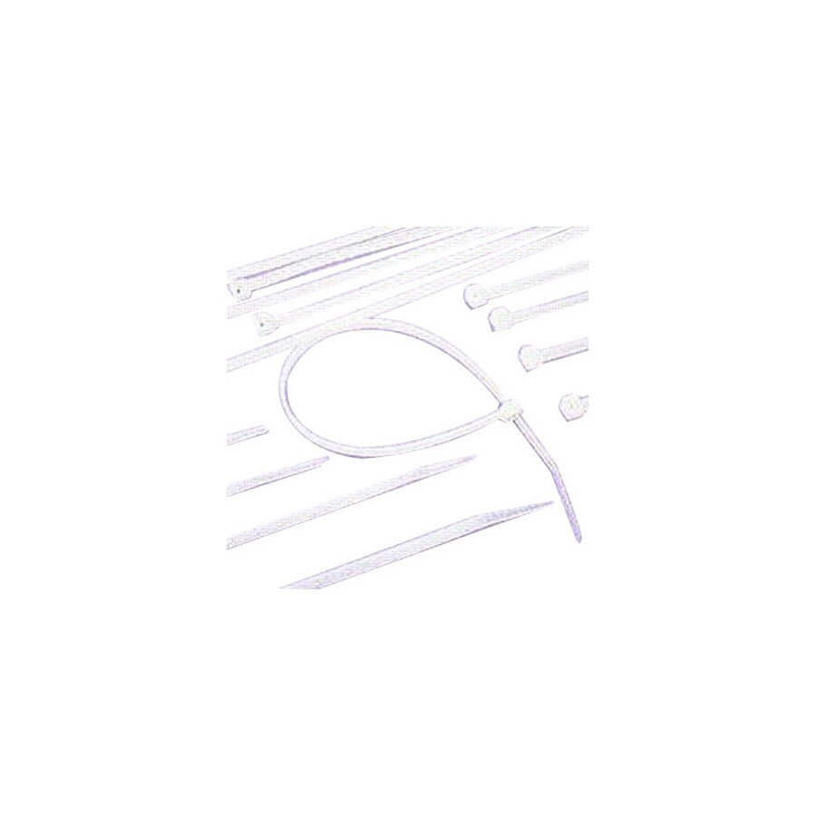 Morris Products 100-Pack 4-in Nylon Cable Tie
