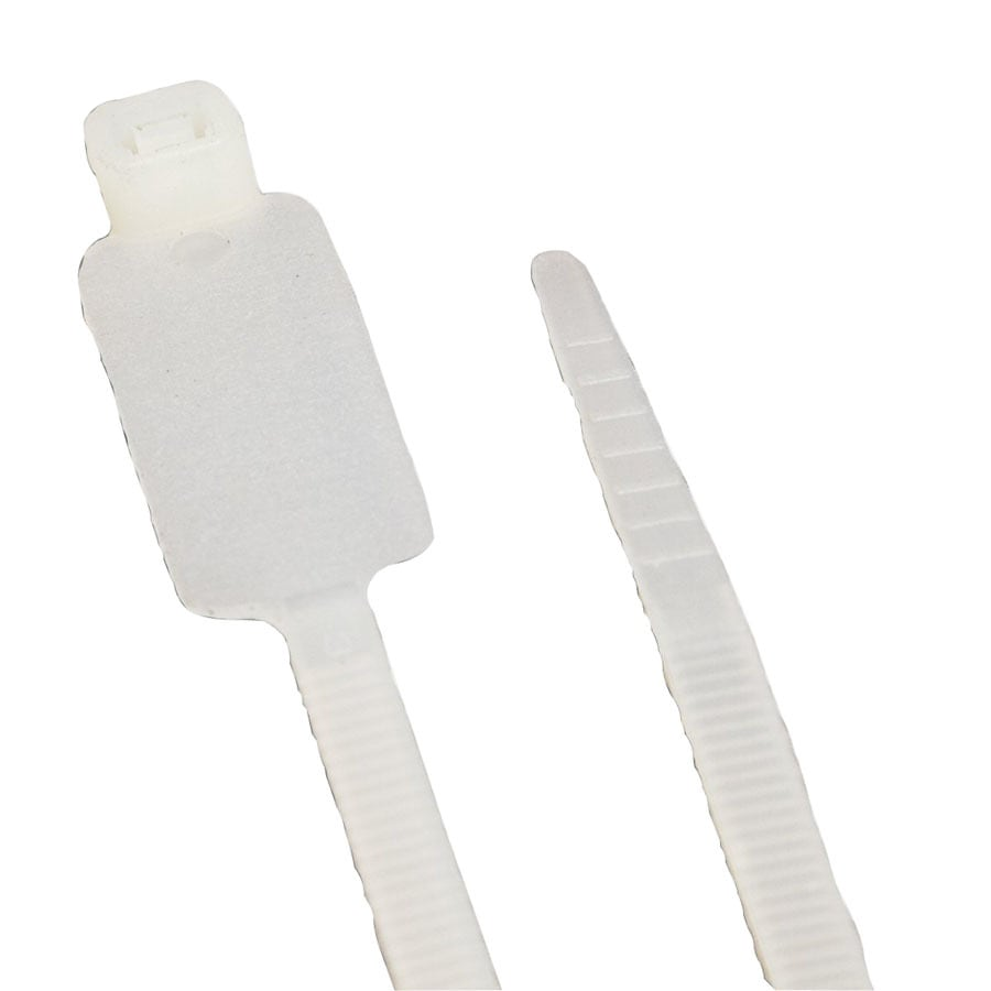 Morris Products 100-Pack 7-7/8-in Nylon Cable Tie