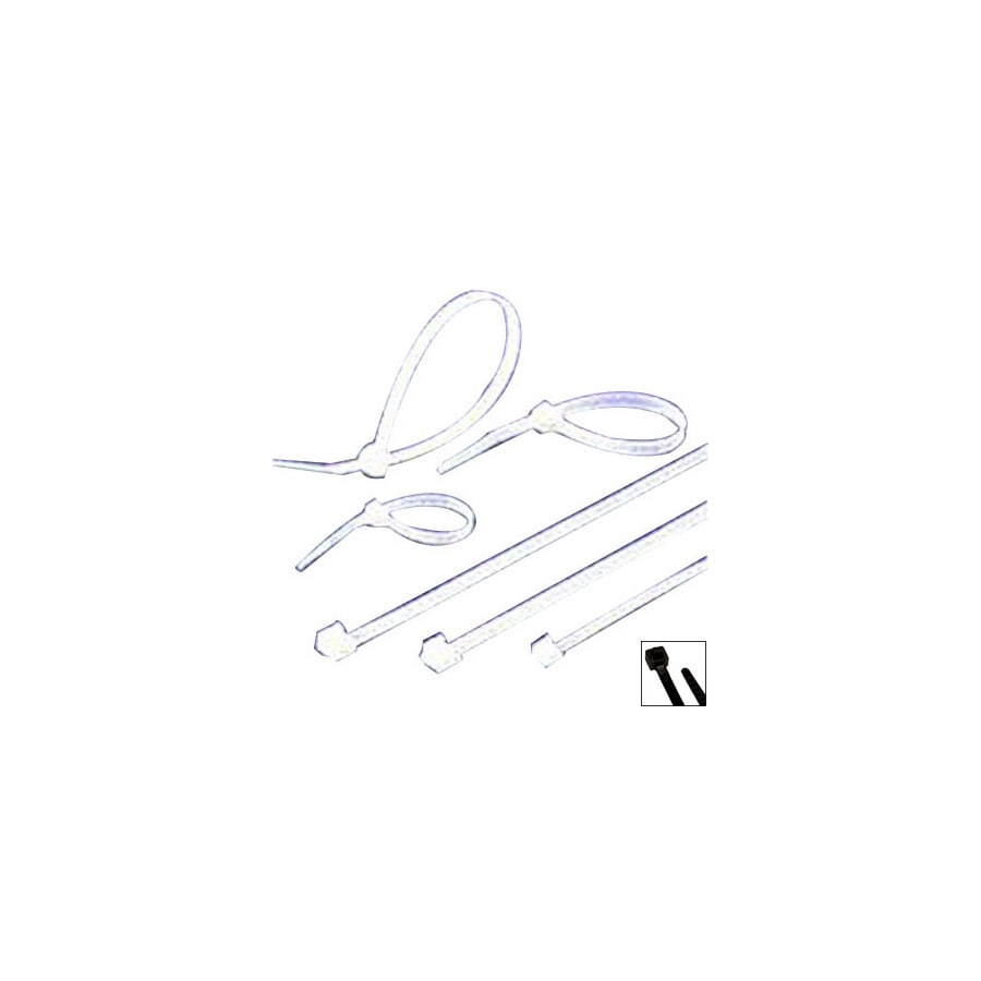 Morris Products 100-Pack 11-7/8-in Nylon Cable Tie