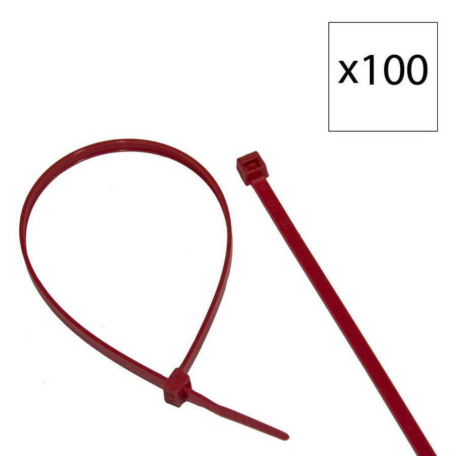 Morris Products 100-Pack 11-13/16-in Nylon Cable Tie