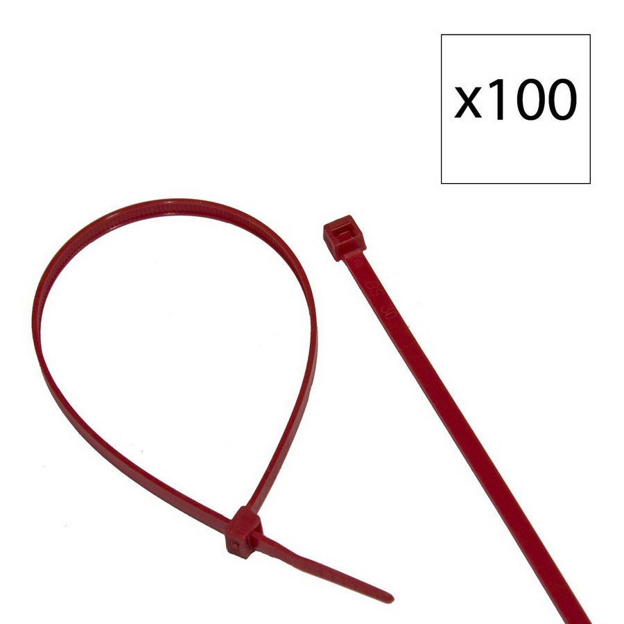 Morris Products 100-Pack 14-13/16-in Nylon Cable Tie