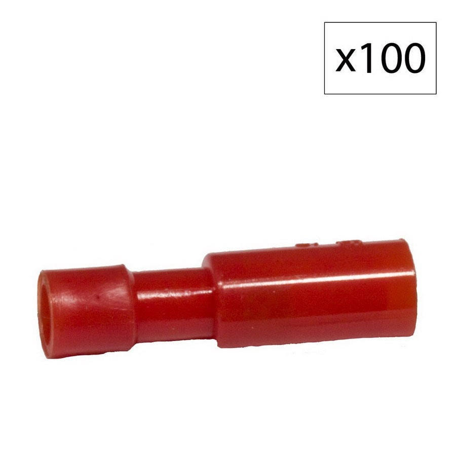 Morris Products 10-Amp 300-Volt Red 1-Wire Connector
