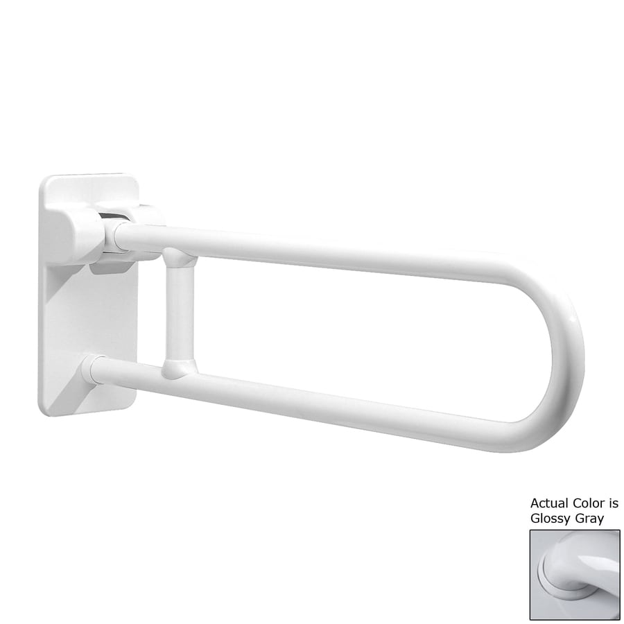 Ponte Giulio USA 33.5-in Glossy Gray Wall Mount Grab Bar
