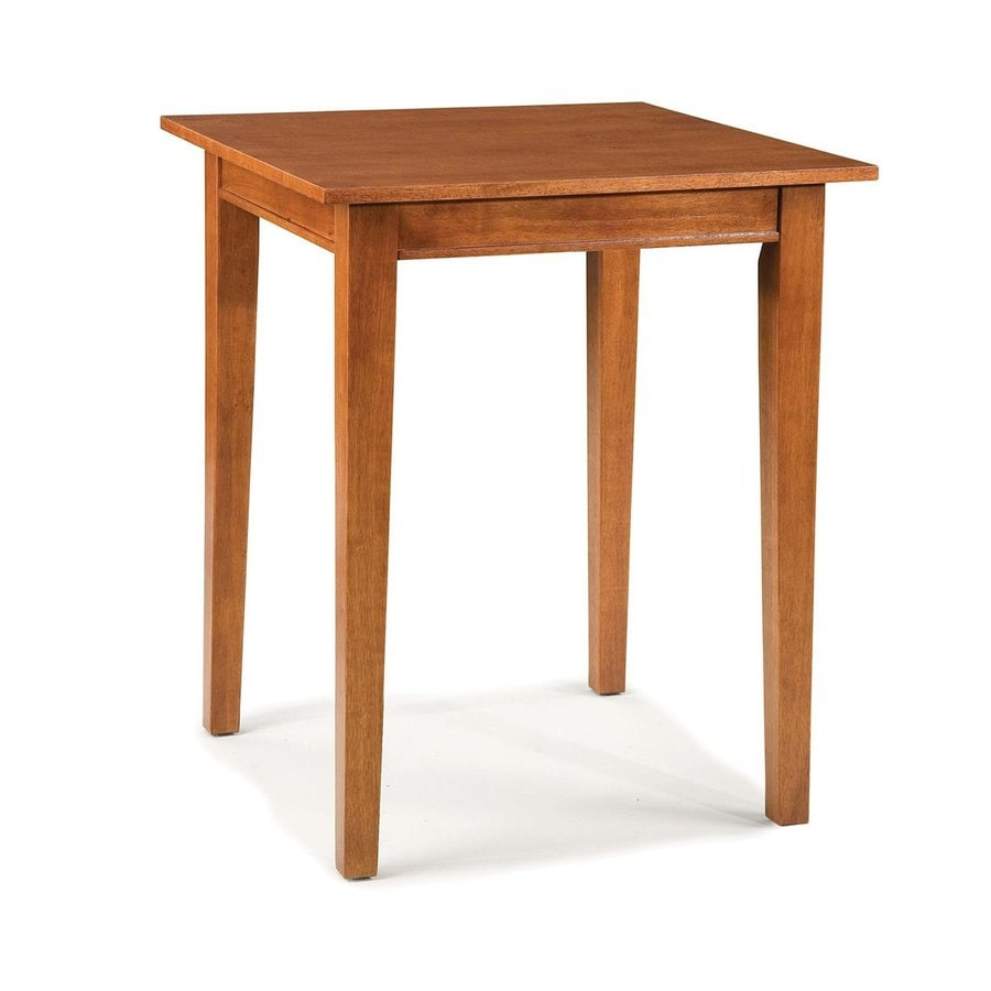 Home Styles Arts & Crafts Cottage Oak Square Bistro Table